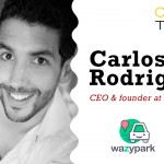 Carlos Rodríguez, fundador & CEO de Wazypark, inaugura el 2017 en First Tuesday Madrid