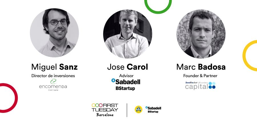 Panel inversores seed en First Tuesday Barcelona