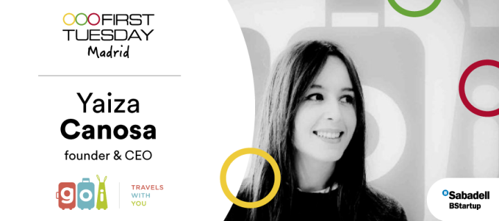 Yaiza Canosa, fundadora y CEO en GOI, en First Tuesday Madrid